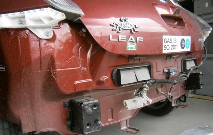 Kurva szar autók – pekingi Nissan Leaf különkiadás 3c29fd5804